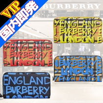 ◆◆VIP◆◆ Burberry  Graffiti print vintage check Wallet