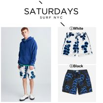 【SATURDAYS NYC】☆新作☆ Timothy Orchid Swim Short