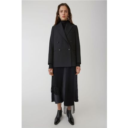 [Acne Studios] Double breasted suit jacket black