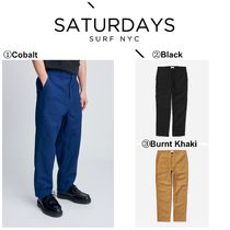 【SATURDAYS NYC】☆新作☆海外限定☆ Decatur Bellow Pant