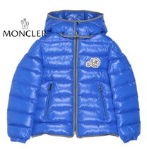 "MONCLER(モンクレール) キッズアウター VIPsale★MONCLER Jr""Rembrandt""WロゴダウンBlue 12/14A[関税込]"