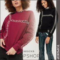 【国内発送・関税込】TOPSHOP★Lace Up Sweatshirt