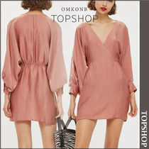【国内発送・関税込】TOPSHOP★Velvet Satin Mini Dress