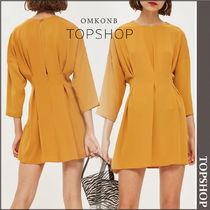 【国内発送・関税込】TOPSHOP★Tuck Seam Mini Dress