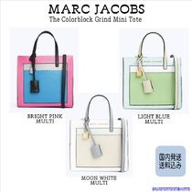 MARC JACOBS【国内発送】The Colorblocked Mini Grind Bag☆3色