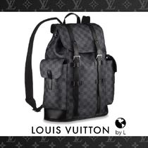 N41379【Louis Vuitton】バックパック ダミエ・グラフィット