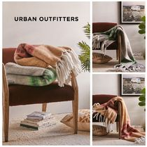 新作☆UrbanOutfitters☆Varsity Stripe Throw Blanket☆税送込