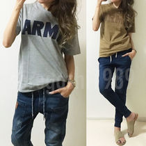 ARMY ロゴ Tシャツ カットソー トップス♪