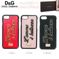 先取/L'amore E Bellezza【送込DOLCE&GABBANA】iphone 7/8★ロゴ
