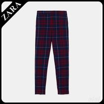 ★ZARA★ザラ  CHECK JOGGER WAIST TROUSERS