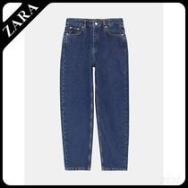★ZARA★ザラ  JEANS NEW MOM STONE BLUE