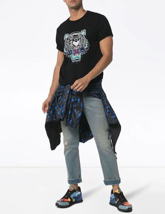 KENZO TIGER PRINTED COTTON T-SHIRT【関税込】