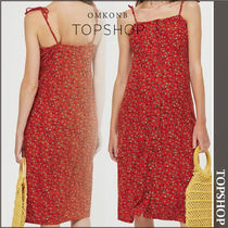【国内発送・関税込】TOPSHOP★Button Through Midi Dress