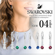 VIP価格【SWAROVSKI】ATTRACT TRILOGY ROUND ピアス