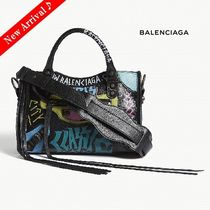 国内即完売♪♡BALENCIAGA Graffiti Classic Cityミニ