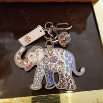 【即発】2018AW♪ Tory Burch★ ELEPHANT LEATHER KEY FOB