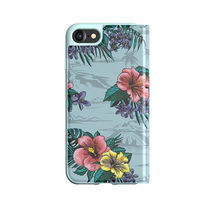 adidas OR-Floral-Booklet case-iPhone 6/6s / 7 / 8 Ash Grey