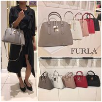 SALE!!大人気!!【FURLA】MILANO Dome Satchael☆2WAY