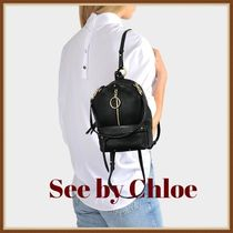 ★See by Chloe シーバイクロエ リュックサック 牛革★(330)