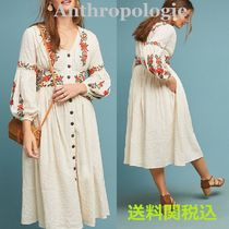 送関込☆Anthropologie☆Gracie Embroidered Peasant Dress