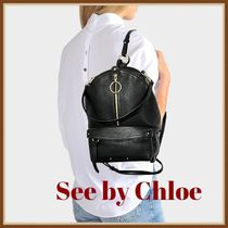 ★See by Chloe シーバイクロエ リュックサック 牛革★(332)