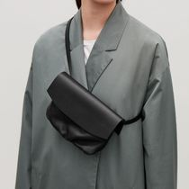 """COS(コス) バッグ・カバンその他  """"COS"""" LEATHER BELT BAG BLACK"""