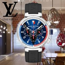 18AW Louis Vuitton(ルイヴィトン) TAMBOUR BLUE CHRONOGRAPH 46