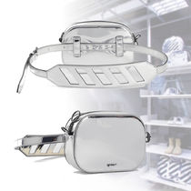 Off-White★新作SILVER MIRROR CAMERA FANNY PACKベルトバッグ