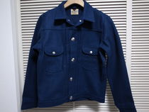 18AW Wrangler for Ron Herman JACKET NAVY Mラングラー