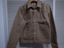 18AW Wrangler for Ron Herman JACKET BEIGE S ラングラー