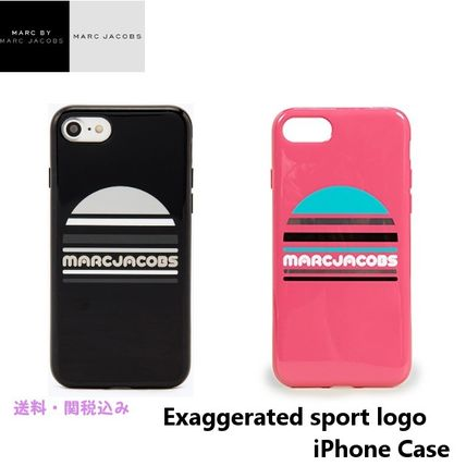 Marc Jacobsマークジェイコブス★Exaggerated sport logo case