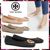 セール 新作 Tory Burch Minnie Travel Ballet Quilted Leather