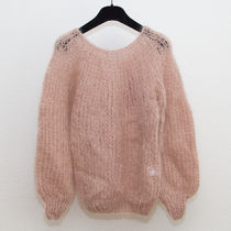 Maiami(マイアミ) ニット・セーター 【 Maiami 】Mohair Sweater with Blousy Sleeves