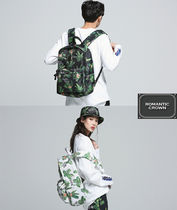 ROMANTIC CROWN★韓国人気ブランド UNISEX Tropical Backpack