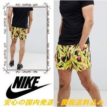 Nike 90's Pack Printed Shorts In Yellow ♪