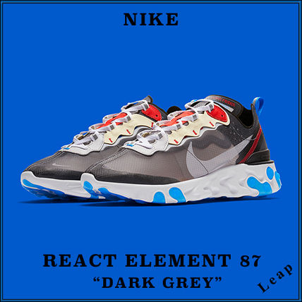 "【Nike】激レア 限定  REACT ELEMENT 87 ""DARK GREY"""