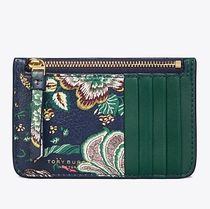 2018AW TORY BURCH Floral Top Zip Card Case カードケース
