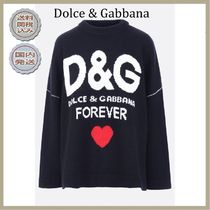 2018-19AW Dolce & Gabbana oversize wool pullover with