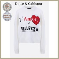 2018-19AW Dolce & Gabbana cropped pullover in cashmere