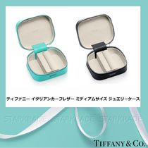 [Tiffany] ティファニー カーフスキン Medium Size Jewelry Case
