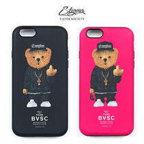[STIGMA]  COMPTON BEAR iPhone CASE -7/8/+/X