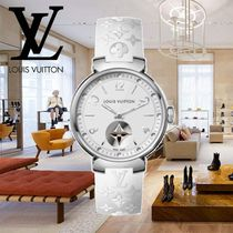 18AW Louis Vuitton(ルイヴィトン) TAMBOUR MOON STAR 28 白