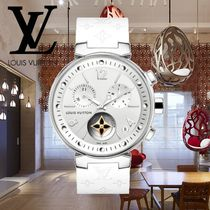 18AW Louis Vuitton(ルイヴィトン) TAMBOUR MOON STAR 39.5 白