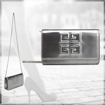GIVENCHY★大人気SILVER 4G チェーンクラッチWALLET