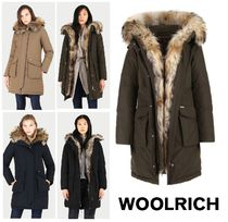 WOOLRICH★ゴージャス!Military Down Parka★ラクーンファー