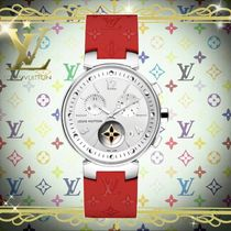 18AW Louis Vuitton(ルイヴィトン) TAMBOUR MOON STAR 35 レッド