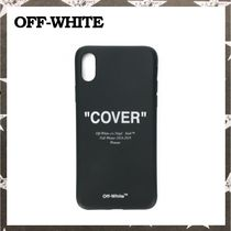 OFF-WHITE / IPHONE X PHONE CASE ブラック【関税・送料込】