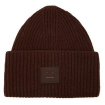 【送料関税込】Acne Studios★knit beanie hat★Brown