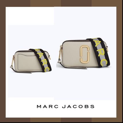 【MARC JACOBS】Logo Strap Snapshot Small Camera Bag♪Dust