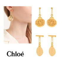 【Chloe】Chain drop earrings